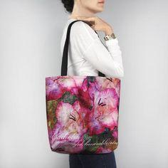 Birthday Blossom Tote Bag - August Gladiolus