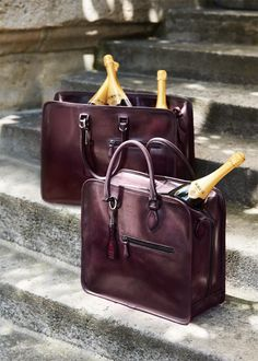 Both bags have been designed to accommodate Krug bottles and matching  glasses. F P · FP. Men s bag 6d8f4ff62d80a