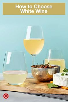 Chardonnay to Riesling to Moscato, find the perfect, crisp white for the wine enthusiast on your gift list. Alcoholic Punch Recipes, Alcohol Drink Recipes, Sangria Recipes, Wine Recipes, Alcoholic Drinks, Beverages, Liquor Drinks, Wine Cocktails, Cocktail Drinks