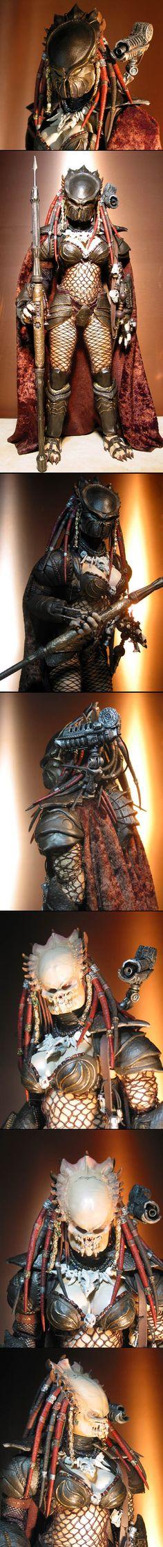 Female Predators in comics Predator Series, Alien Vs Predator, Alien Creatures, Fantasy Creatures, Aliens Colonial Marines, Tribal Warrior, Black Comics, Alien Concept, Sketches