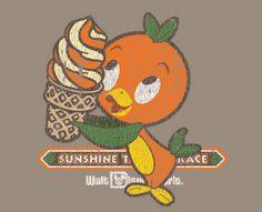 Orange Bird shirt idea from www.disneydesignerland.blogspot.com.