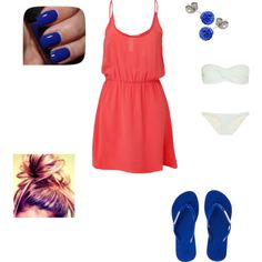 """""""Baileys Hawaiian Outfit"""" by me  on Polyvore"""