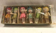 Vintage Bisque Dolls Frozen Charlotte Set by VintagePrairieHome