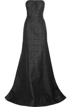 Jason Wu Strapless brocade gown