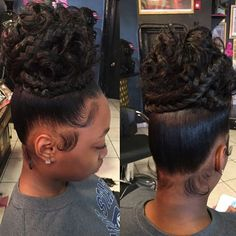 A beautiful natural hair is everything Tag the stylist , thumbs up Black Hair Updo Hairstyles, My Hairstyle, Weave Hairstyles, Girl Hairstyles, Wedding Hairstyles, Black Girl Braids, Girls Braids, Ponytail Styles, Curly Hair Styles