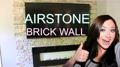 You might want to buy some Airstone at Lowe's when you see what this woman did in her living room!