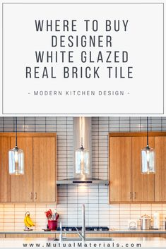 Kitchen Tiles Brick Interior Design New Ideas Brick Interior, White Interior Design, Home Interior, Scandinavian Interior, New Kitchen Designs, Modern Kitchen Design, Interior Design Kitchen, Kitchen Layout, Kitchen Backsplash