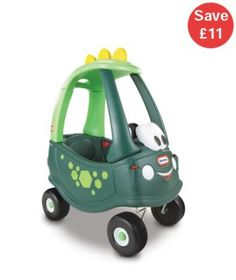 Little Tikes Cozy Coupe Dino, Outdoor Car For Kids, Dinosaur Ride On, Horn, Toys Dino Toys, Dinosaur Toys, Little Tikes, Toddler Gifts, Toddler Toys, Baby Toys, Baby Rocking Horse, Kids Ride On, Ride On Toys