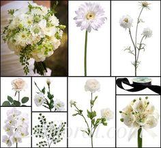 Burgundy & Cream Vintage Wedding Flowers ~ Courtnie's Inspiration Board