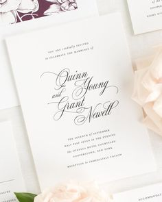 Simple and elegant wedding invitations of the highest quality. Work with a designer to create the perfect wedding invitation suite. Free Wedding Invitation Samples, Shine Wedding Invitations, Invitation Wording, Wedding Invitation Suite, Elegant Wedding Invitations, Invitation Ideas, Diy Wedding, Wedding Ideas, Wedding Paper