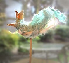 i love this little bird. Butterfly Bat, Bee Sting, Garden Oasis, Bluebirds, In The Tree, Nests, Felt Art, Sweet Life, Bird Art