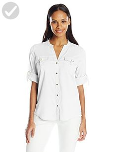 4099f6f59f681 46 Best Calvin Klein Blouses   Button-Down Shirts For Women images ...
