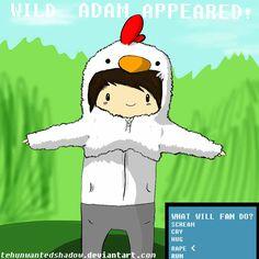Wild ADAM appeared! - owl-city Fan Art so funny