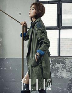 Gong Hyo-jin ♡ #KDrama //  Elle Magazine September Issue '14