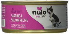 Nulo Grain-Free Cat Sardine Can (Case of 12), 5.5 oz ** Check this awesome image  : Best Cat Food