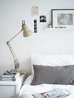 Minimalist bedroom | @styleminimalism