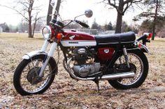 Honda Super Sport CB 350, 1970 or CL 350K0, 1968?