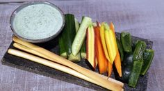 Green Goddess Dip Recipe | The Chew - ABC.com. Add a little vinegar to thin and use as salad dressing.
