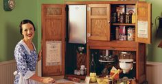 A Pictorial History Of The Hoosier Cabinet (9 Photos)
