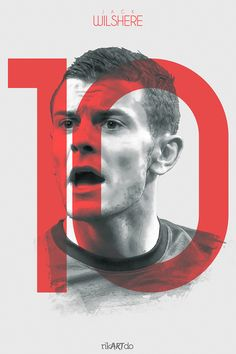 The Gunners by Ricardo Mondragon, via Behance Arsenal Players, Arsenal Fc, Arsenal Football, Sport Inspiration, Graphic Design Inspiration, Arsenal Pictures, Paris Saint Germain Fc, Jack Wilshere, Football Art