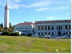 Doe Library and Campanile