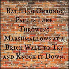 ***battling chronic pain