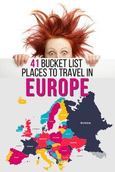 41 Bucket List Places to Travel in Europe. Whats on our list? You will have to check it out, and you may be surprised with some of them. We do have places in Germany, Portugal, UK, Italy. And have places like beaches, cities, villages and attractions. #eu Europe Bucket List, Bucket List Destinations, Travel Destinations, European Vacation, European Travel, Cool Places To Visit, Places To Travel, Europe Travel Guide, Backpacking Europe