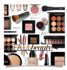 Shades of fall by nineseventyseven on Polyvore featuring polyvore ljepota Bobbi Brown Cosmetics MAC Cosmetics Chanel Kevyn Aucoin Bare Escentuals Sisley NYX Charlotte Russe LAQA & Co. fallbeauty