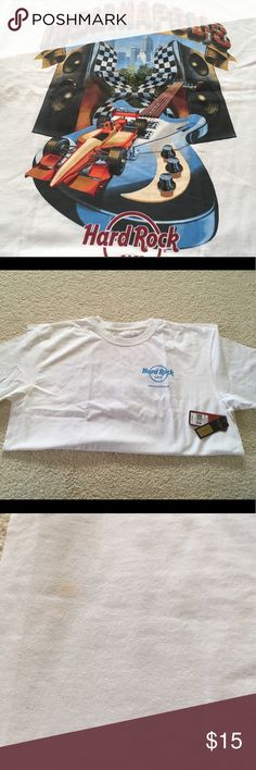 Hard Rock Cafe Indianapolis Cafe Tee Shirt BNWT Never worn. Small light spot on front right Hard Rock Cafe Shirts Tees - Short Sleeve