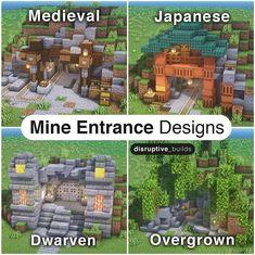 Minecraft Mansion, Minecraft Cottage, Cute Minecraft Houses, Minecraft Room, Minecraft Plans, Amazing Minecraft, Minecraft Blueprints, Minecraft Crafts, Minecraft Stuff