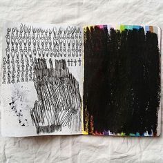 New sketchbook for @thesketchbookproject #marcopariani