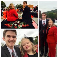 Kendra Hager, West Virginia teen with Down syndrome, is crowned homecoming queen