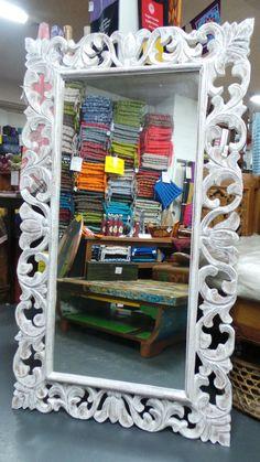 Carved Wooden Mirror 140cmx80cm Mirror Frames, Decor, Coffee Table Wayfair, Carving, Frame, Wooden Mirror, Home Decor, Wooden, Mirror