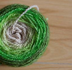 Dying yarn with Kool Aid
