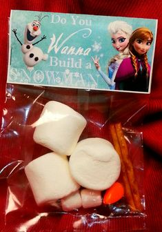 Frozen Valentines will be a BIG hit this year! The girls and I made these this year for their classes and they were super easy and fun! :)