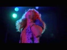 """© 2007 WMG. Black Dog (Live in New York 1973) From The Song Remains the Same DVD The worlds greatest rock band of all time, Led Zeppelin, performing """"Black D..."""