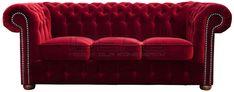 czerwona sofa chesterfield, red chesterfield, pluszowa sofa chesterfield, velvet chesterfield, styl angielski, armchair   karmazyn, ceglana, perpur Sofa  sofa_chesterfield_classic_IMG_3249c.jpg (1200×472)