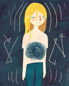 Anxiety - Illustration Print