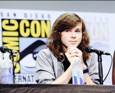Chandler Riggs | Aww that little smile