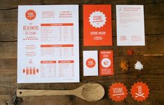 L'usine restaurant branding
