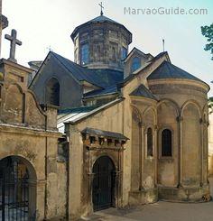 Ancient Armenian church in Lviv