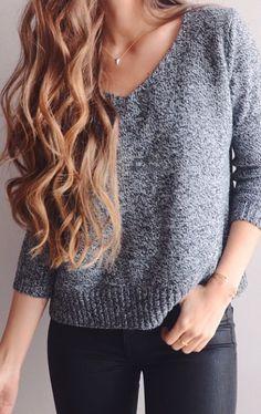 Sweater / cute / jeans