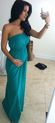 maxi dress- preg or not, this is cute