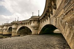Le Pont Neuf, Paris, France -The oldest standing bridge in Paris despite it's name (inaugurated by Henri IV in 1607)