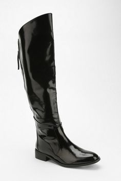 Jeffrey Campbell Shane Over-The-Knee Boot || sleek patent leather
