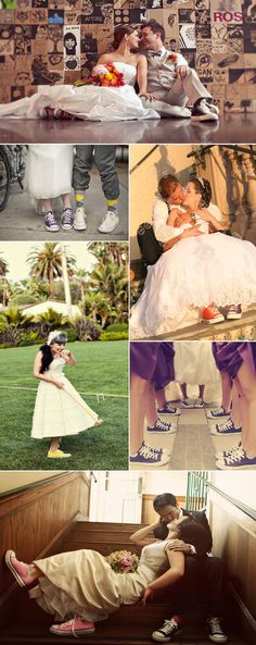 #bride #Converse #sneackers