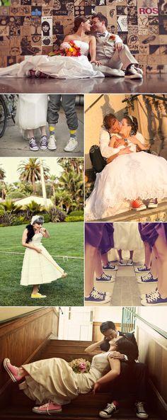 #bride #Converse #sneackers