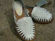 Huarache Shoes , oh they hurt,but when you broke them in you never took them off.