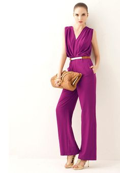 shop for Elegant Deep V Neck Office Lady Women Summer Jumpsuit and more for everyday cheap prices at Lalalilo.com - Your Online Womens Clothes Store
