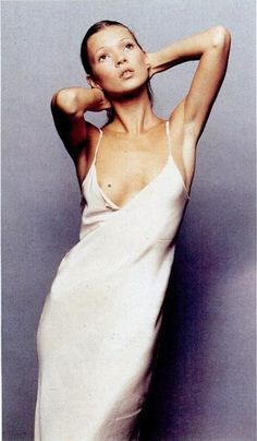 Want to live in slip dresses, a la Kate Moss